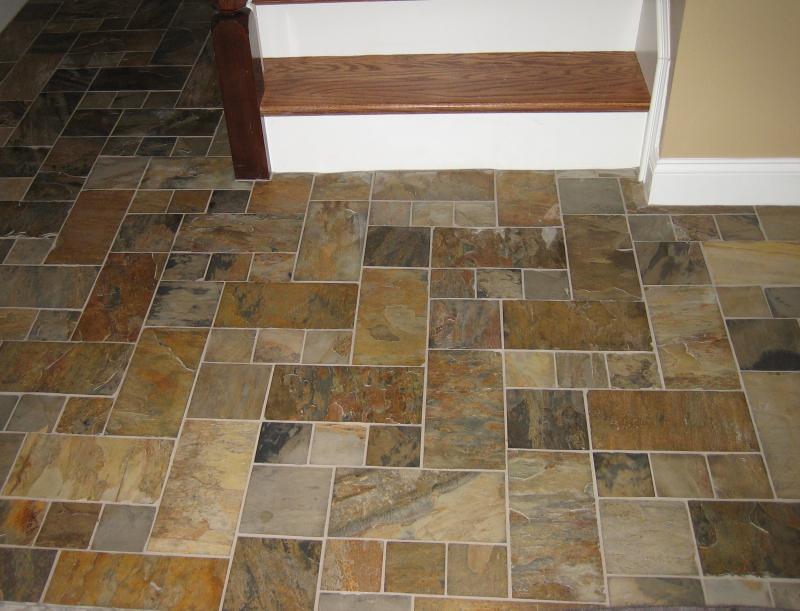 Scott macdonald tile services for Foyer tile patterns
